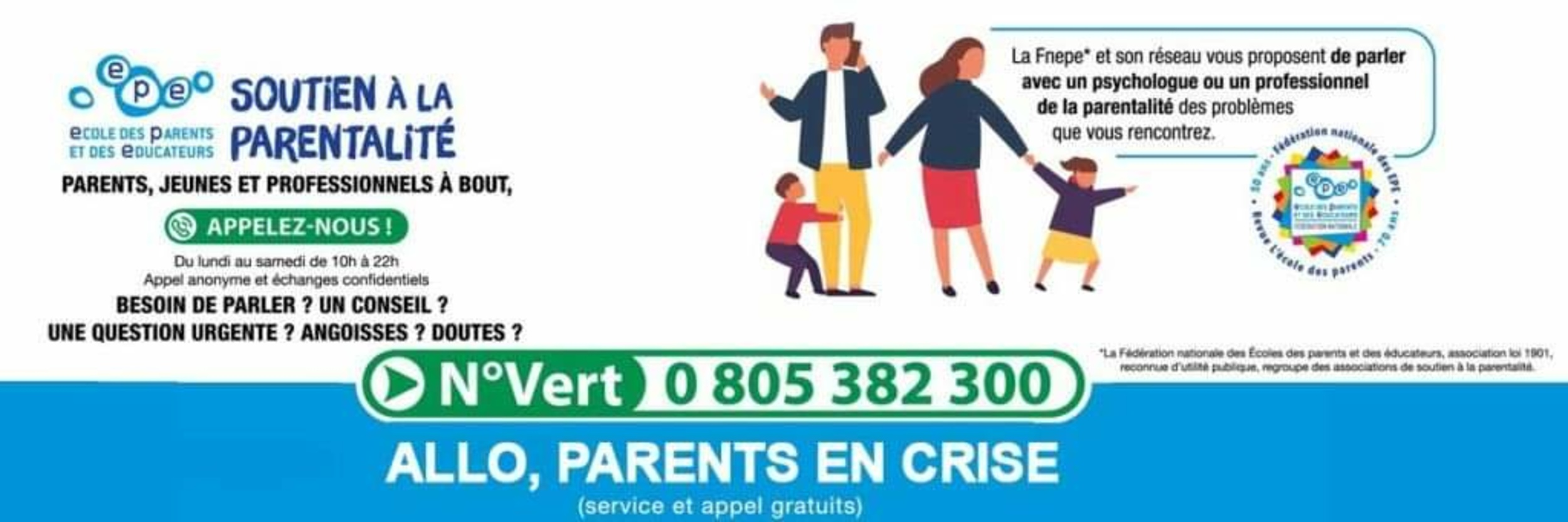 """ALLÔ PARENTS EN CRISE - COVID"