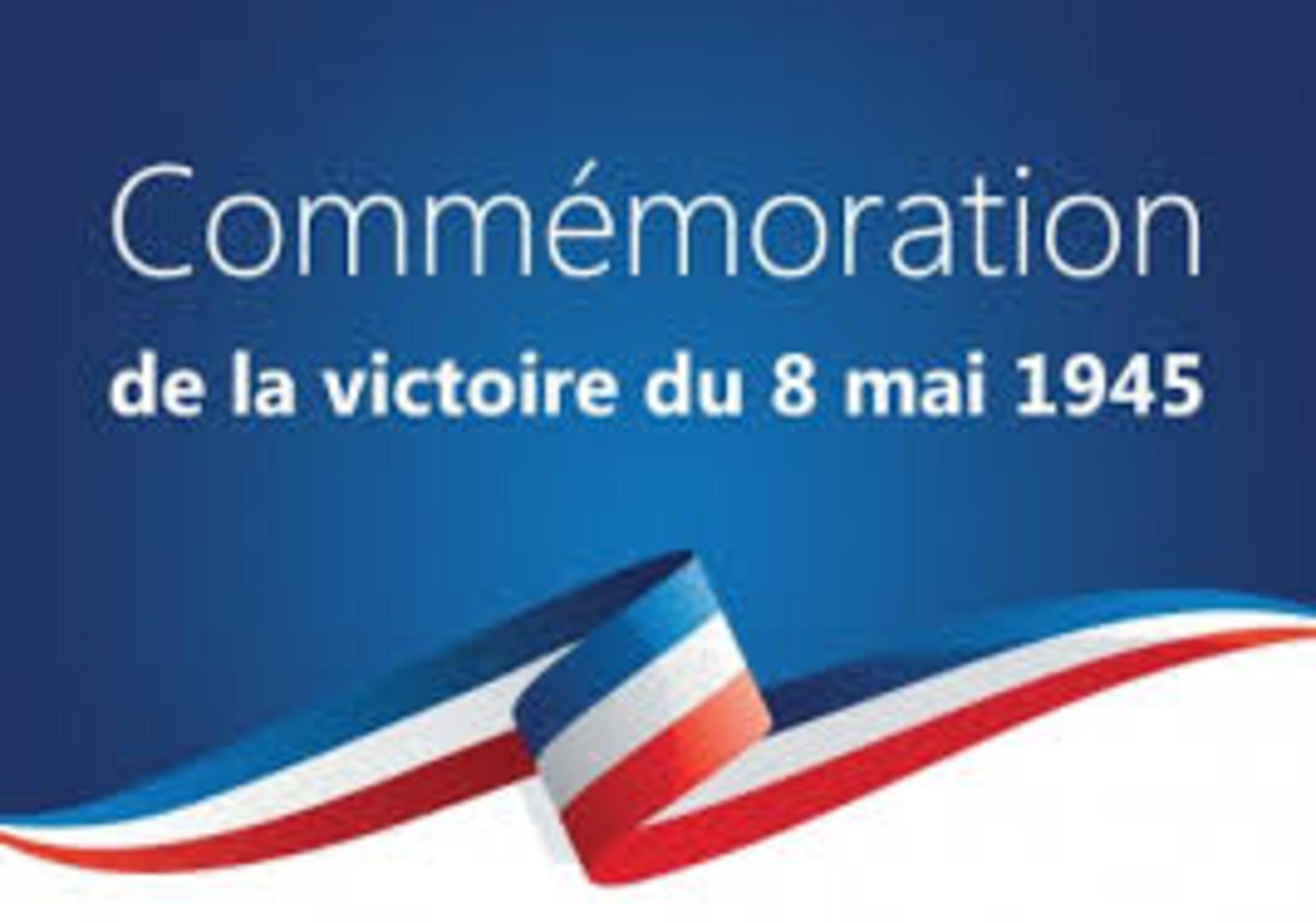 COMMÉMORATION DU 8 MAI 45 - SAINT MARTIN DES PRÉS