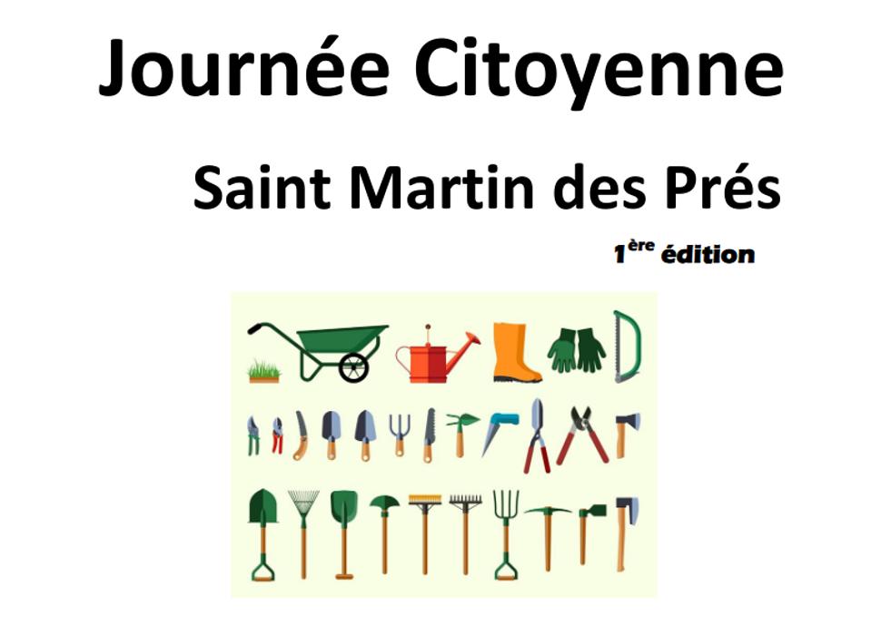 Saint Martin des PrésJournée citoyenne du 17/10/2020 0