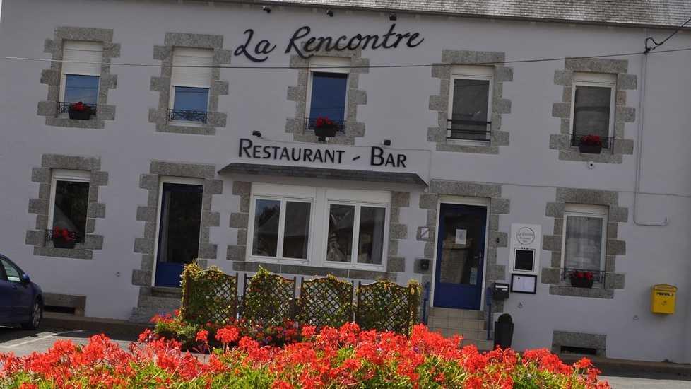 """St Martin des Prés : Restaurant """"La Rencontre"""" 0"""