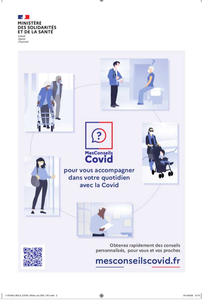 Site d'accompagnement COVID  0