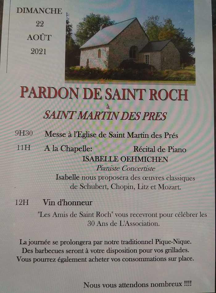 Le pardon de la chapelle St Roch 2021 à St Martin des Prés 0